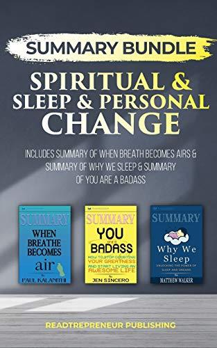 Summary Bundle: Spiritual & Sleep & Personal Change - Readtrepreneur Publishing By Readtrepreneur Publishing