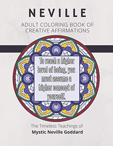 Coloring Book of Creative Affirmations By Mentor Journals