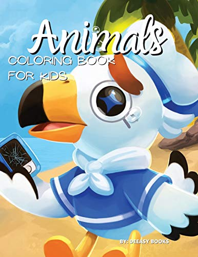 Animals Coloring Book For Kids By Deeasy Books