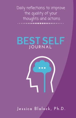 Best Self Journal By Dr Jessica Blalock