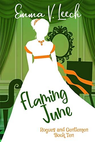 Flaming June By Emma V Leech