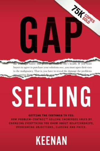 Gap Selling By Keenan