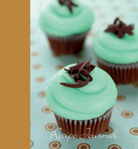 Large-Recipe-Journal-Mint-Cupcake-by-Publishers-New-Holland-Hardback-Book-The