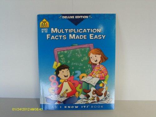 Multiplication Facts Made Easy By Barbara Bando Irvin