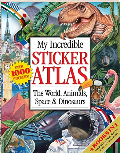 My Incredible Sticker Atlas by Hinkler Books PTY Ltd