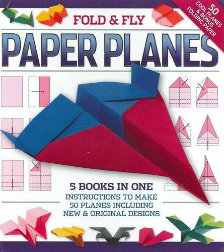Fold and Play Paper Planes by