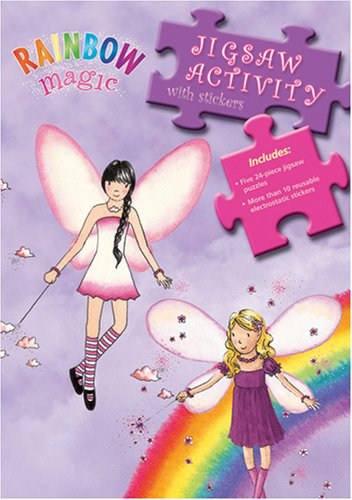 Rainbow Magic Jigsaw Activity by