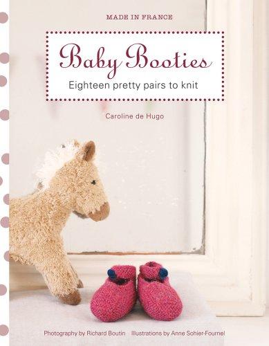 Made in France: Baby Booties By Caroline de Hugo