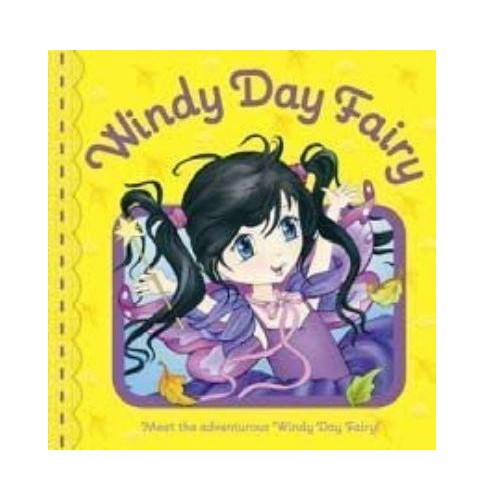 Little Fairies: Windy Day Fairy By Five Mile Press