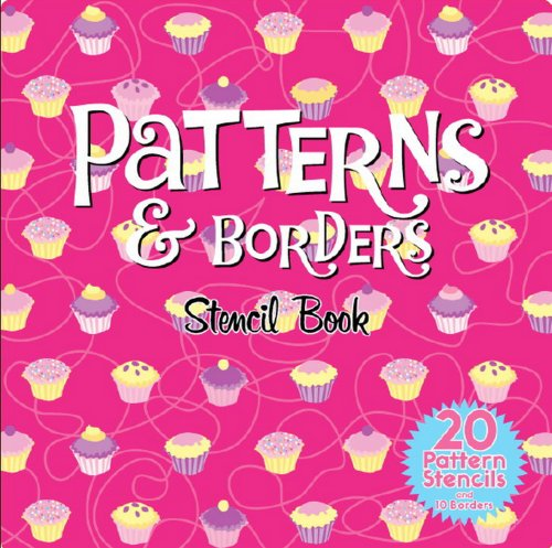 Patterns and Borders Stencil Book By Five Mile Press