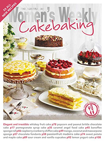 Cakebaking by The Australian Women's Weekly