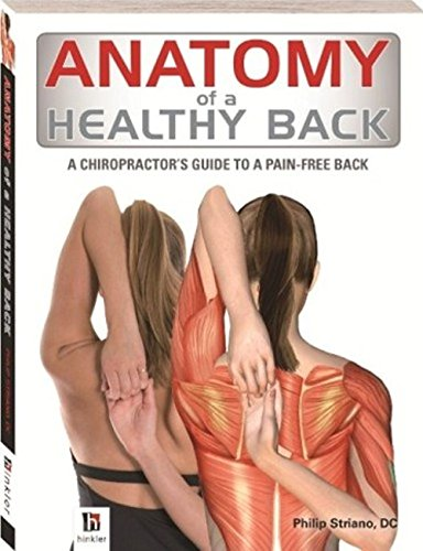 Anatomy of a Healthy Back by Hinkler Books PTY Ltd