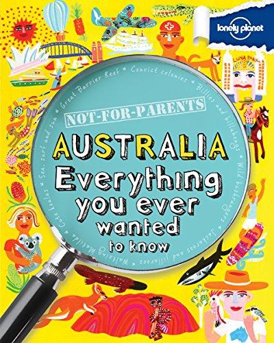 Not for Parents Australia von Lonely Planet