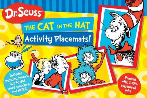Dr Seuss The Cat in the Hat Activity Placemat