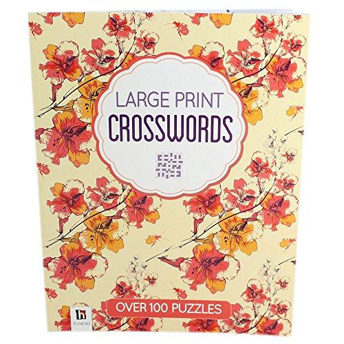Crosswords Deluxe Large Print Puzzles