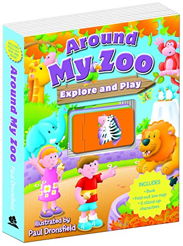 Around My Zoo (Explore & Play) By Paul Dronsfield
