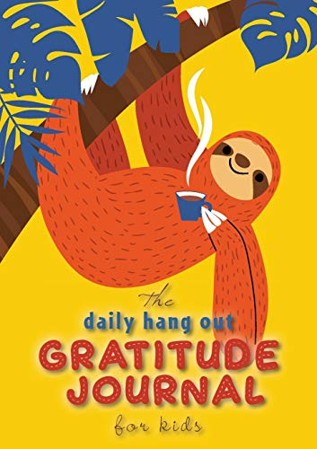 The Daily Hang Out Gratitude Journal for Kids (A5 - 5.8 x 8.3 inch) By Blank Classic