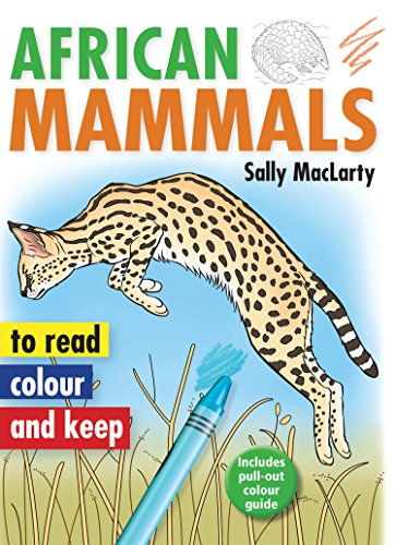 African mammals By Sally MacLarty
