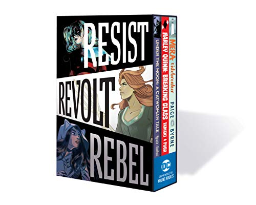 DC Graphic Novels for Young Adults Box Set 1 Resist. Revolt. Rebel By Various