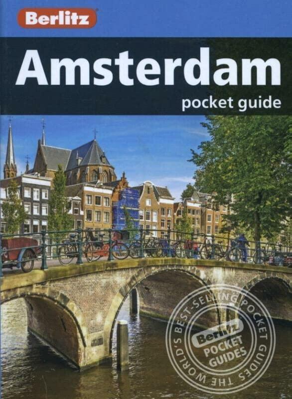 Berlitz Pocket Guide Amsterdam (Travel Guide) (Berlitz Pocket Guides) By Berlitz