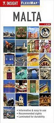 Insight Flexi Map: Malta By Insight Guides