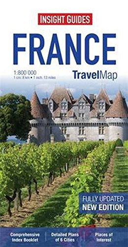 Insight Travel Map: France By Insight Guides
