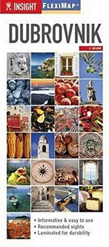 Insight Flexi Map: Dubrovnik By Insight Guides