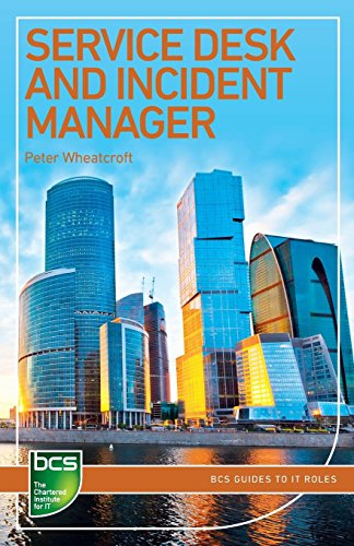 Service Desk and Incident Manager By Peter Wheatcroft