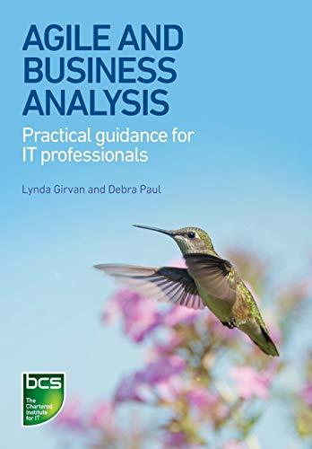 Agile and Business Analysis By Lynda Girvan
