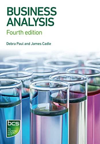 Business Analysis By Debra Paul