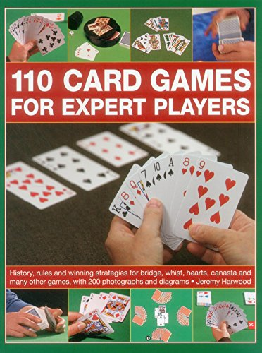 110 Card Games for Expert Players by Jeremy Harwood