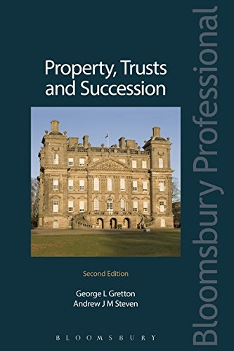 Property Trusts and Succession By Andrew Steven
