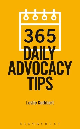 365 Daily Advocacy Tips by Leslie Cuthbert