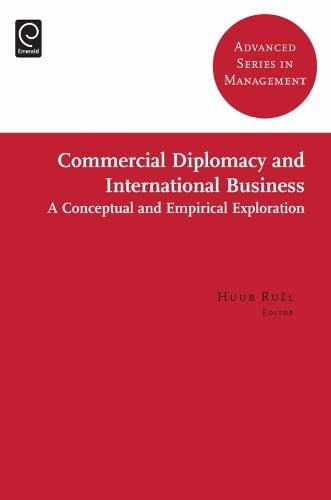 Commercial Diplomacy in International Entrepreneurship By Dr. Huub Ruel