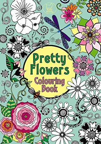 Pretty Flowers Colouring Book (Pretty Patterns) Illustrated by Hannah Davies