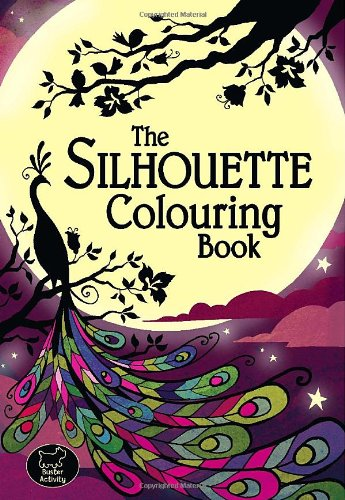 The Silhouette Colouring Book by Richard Merritt