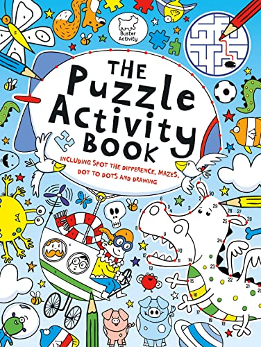 The Puzzle Activity Book (Buster Puzzle Activity) By Various Authors Various Authors