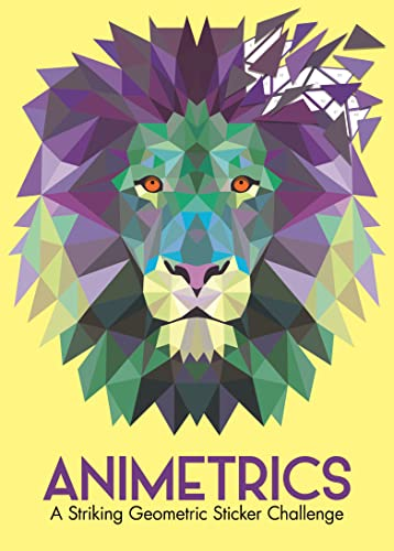 Animetrics: A Striking Geometric Sticker Challenge (Sticker by Number Geometric Puzzles) By Buster Books