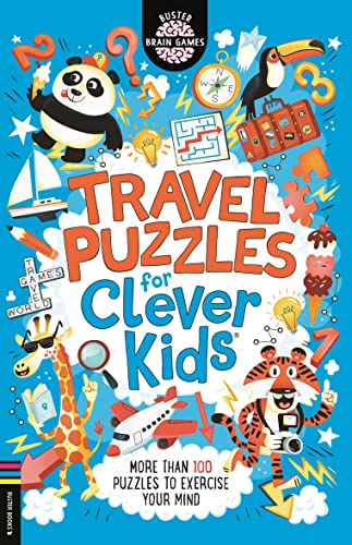 Travel Puzzles for Clever Kids By Gareth Moore