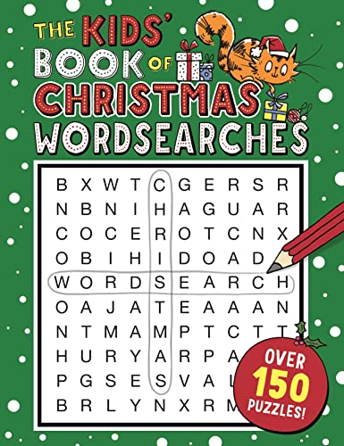 The Kids' Book of Christmas Wordsearches By Sarah Khan