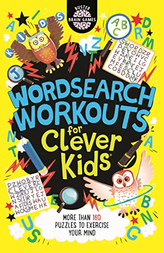 Wordsearch Workouts for Clever Kids By Gareth Moore