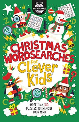 Christmas Wordsearches for Clever Kids By Gareth Moore