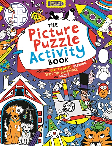 The Picture Puzzle Activity Book By Buster Books