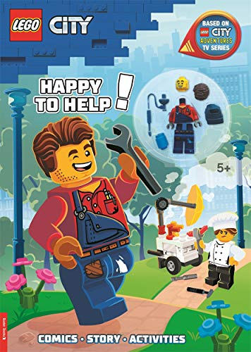 LEGO (R) City: Happy to Help! (with Harl Hubbs minifigure) By Buster Books
