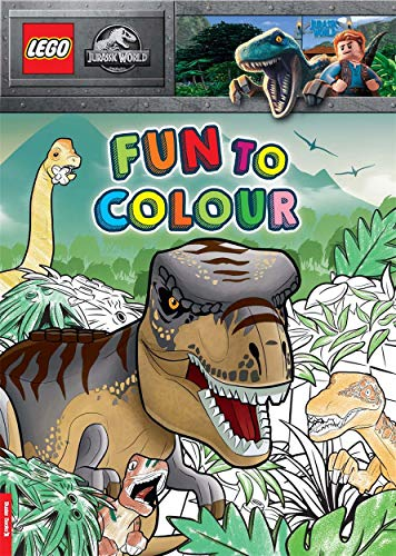 LEGO (R) Jurassic World (TM): Fun to Colour By Buster Books