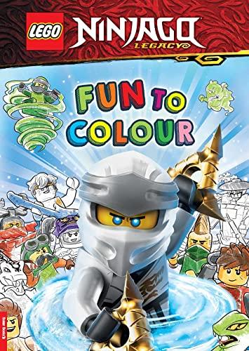 LEGO (R) NINJAGO (R): Fun to Colour By Buster Books
