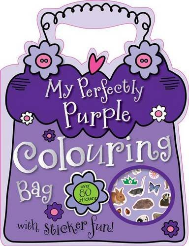 My Perfectly Purple Colouring Bag By Katie Cox
