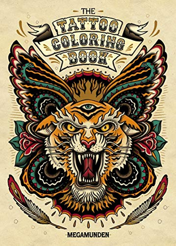 Tattoo Colouring Book, The By Megamunden