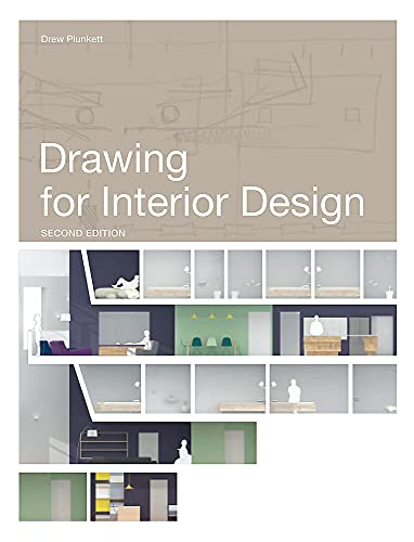 Drawing for Interior Design 2nd Edition by Drew Plunkett