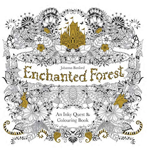 Enchanted Forest: An Inky Quest & Colouring Book By Johanna Basford